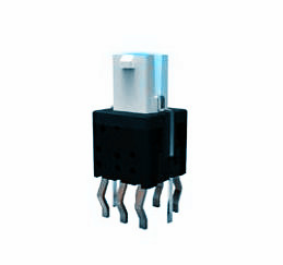 Minimum self-locking switch with a lamp LED switch with a small button lock LED lighting ANJ-58D-01