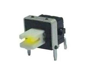 Side Press LED Lighting Key Switch Horizontal Illuminated Lamp Self Locking Switch ANJ-58D-03