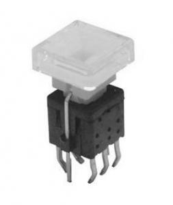 Illuminated Square Pushbutton, Square Button Switch ANJ-58D-07